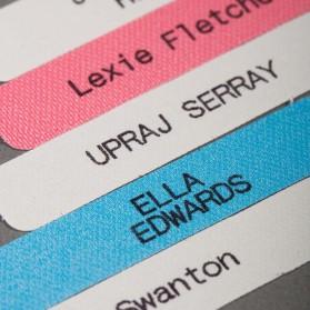 Personlige trykte etiketter...